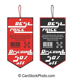 Discount tag template - 50% Off - discount sale template....