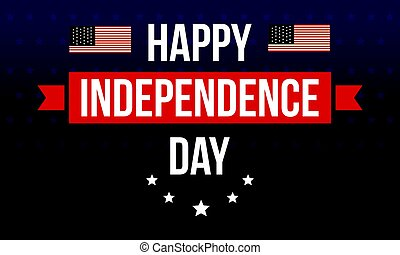 Collection stock independence day background