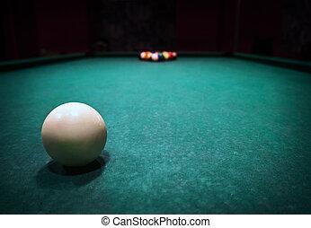 Billards pool game.