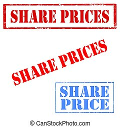 Share Prices-stamps