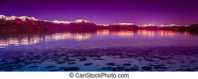 Argentinian Lake District - Beautiful lake in argentinian...