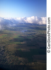 Aerial view of Savanne district Mauritius Island