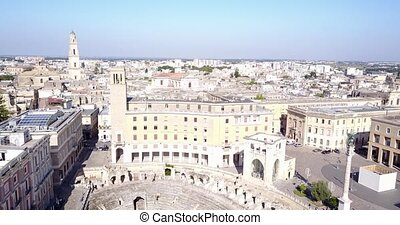 Historic city center of Lecce, Puglia, Italy - Historic city...