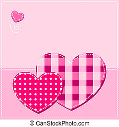 valentine background with heart - pink valentine background...