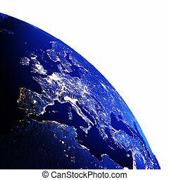 continente, europeu