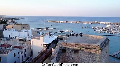 Otranto with Aragonese castle, Apulia, Italy - Otranto with...