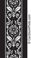 damask fancy pattern - background