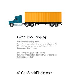 Flyer Shipping and Freight of Goods