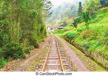 Steam narrow-gauge railway. - Steam narrow-gauge railway...