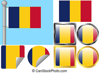 Flag Set Chad