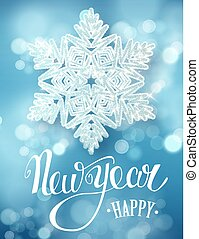 Christmas decoration. New Year background - Happy New Year...