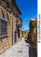 Village Civita di Bagnoregio in Italy - architecture...