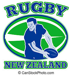 rugby player pass ball new zealand