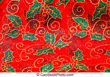Christmas pattern - Festive Christmas background with...