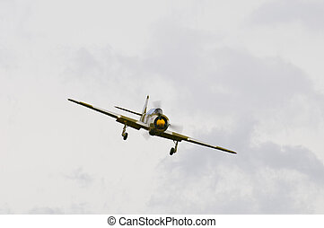 Yakolev Yak-52TW - Team Iacarii performing on a Belgian...