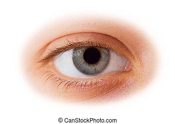 婦女, 眼睛