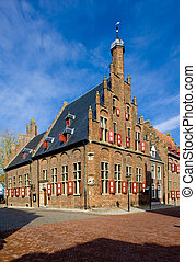 town hall in Doesburg - town hall, Doesburg, Gelderland,...