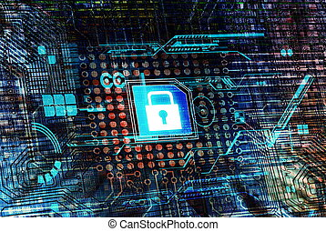 Secure data processing concep