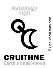 Astrology: CRUITHNE (Earth's quasi-moon) - Astrology...