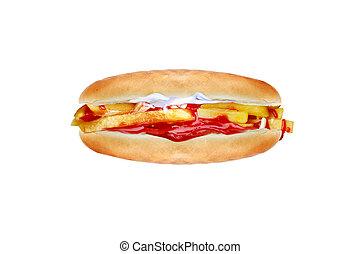Patso - Chip Butty a British fast food
