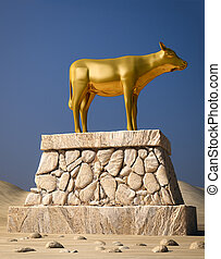 Golden Calf - The golden calf as described in the book of...