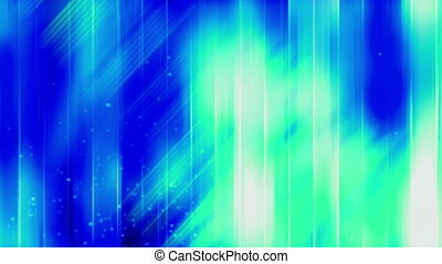 Blue green particle abstract looping wallpaper animated CG...