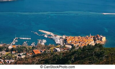 The Old Town of Budva, Montenegro