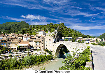 Nyons, France - Nyons, Drome, Rhone-Alpes, France