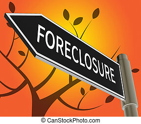 House Foreclosure Meaning Repossession And Sale 3d...