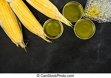 corns and research development of technology oil - yellow...