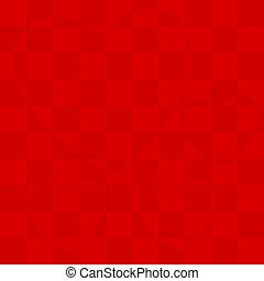 Heart in a cage on a plaid background