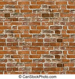 Seamless high resolution brick texture