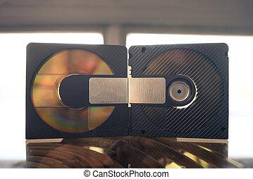 mini disc vintage