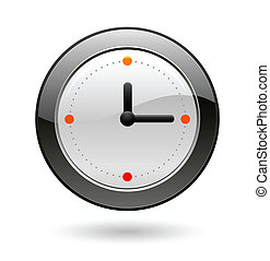 office clock - office circle clock