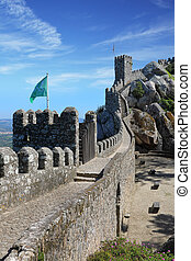 Moorish castle in the municipality of Sintra about 25km...