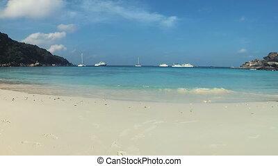 Similan Islands White sandy beaches - White sandy beaches...