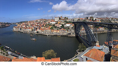 Porto or Oporto - Portugal - The city of Oporto (or Porto)...
