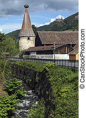 Ribeauville - Alsace - France - Ribeauville in a small town...