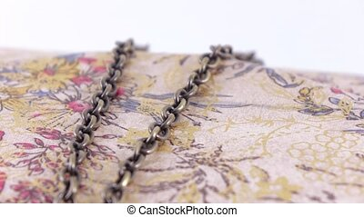 Clutch with chains - Ladies handbag clutch with chain