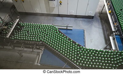 Modern conveyor for water bottling machine