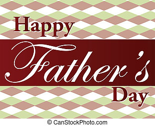 Fathers Day - Father\'s Day text illustration over a nice...