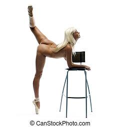 ballerina, naakte