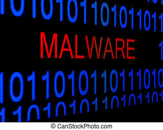 hacker concept computer binary codes green text on black background