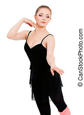 Woman ballerina ballet dancer