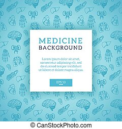 Pattern frame and place for text. - Healthcare medical...