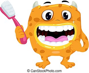 Monster Mouth Healthy Tooth Brush