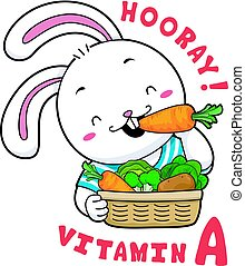 Mascot Rabbit Vitamin A