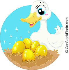 Fable The Goose Who Laid Golden Eggs