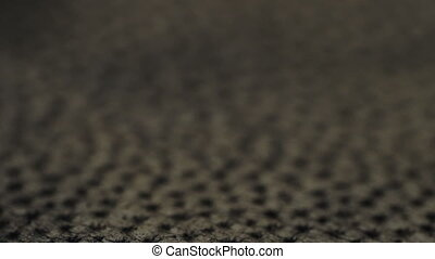 Genuine leather texture black color macro. Small depth of...
