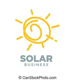 Solar Energy Alternative Symbol